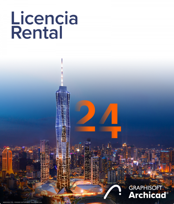 Archicad Rental