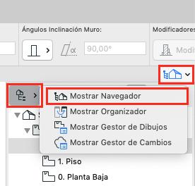 mostrar navegador
