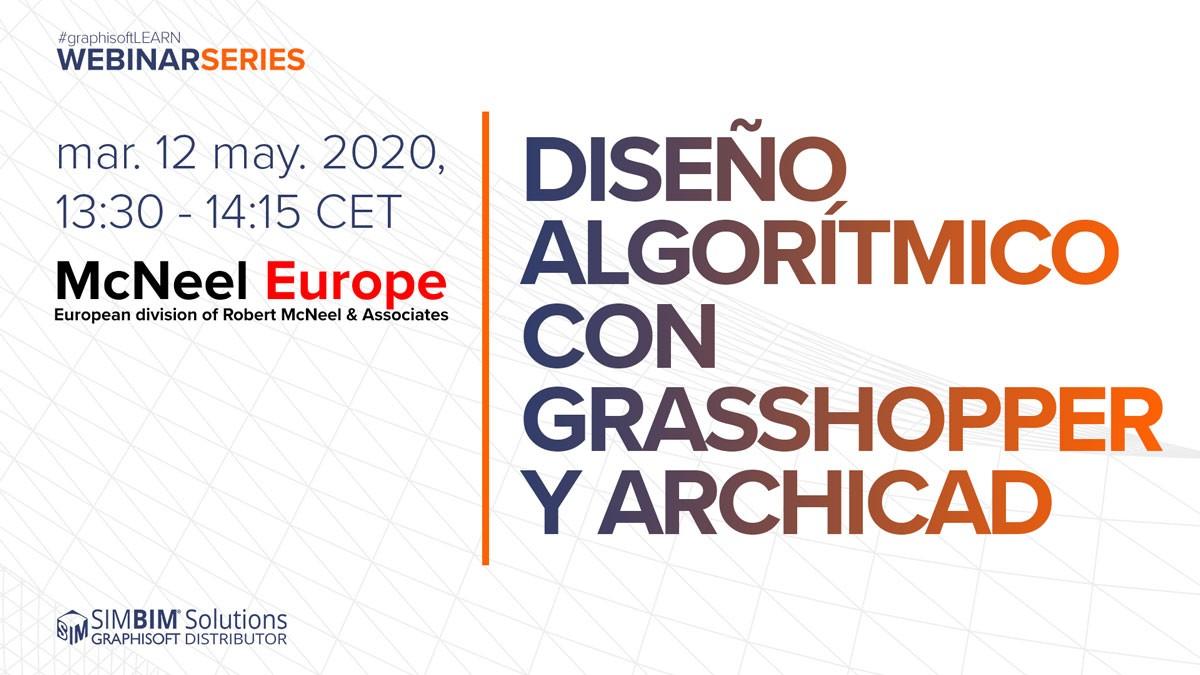 Descubre el diseño algorítmico con Grasshopper y ARCHICAD en la Sala Virtual