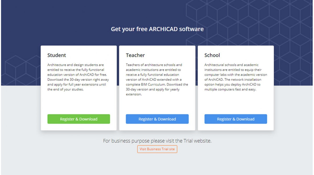 ARCHICAD es gratis para estudiantes, profesores, investigadores y escuelas