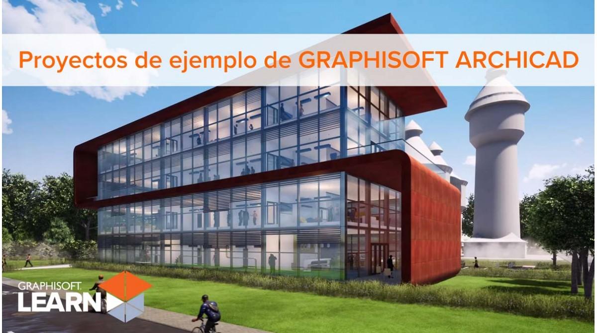 Proyectos de ejemplo de GRAPHISOFT ARCHICAD