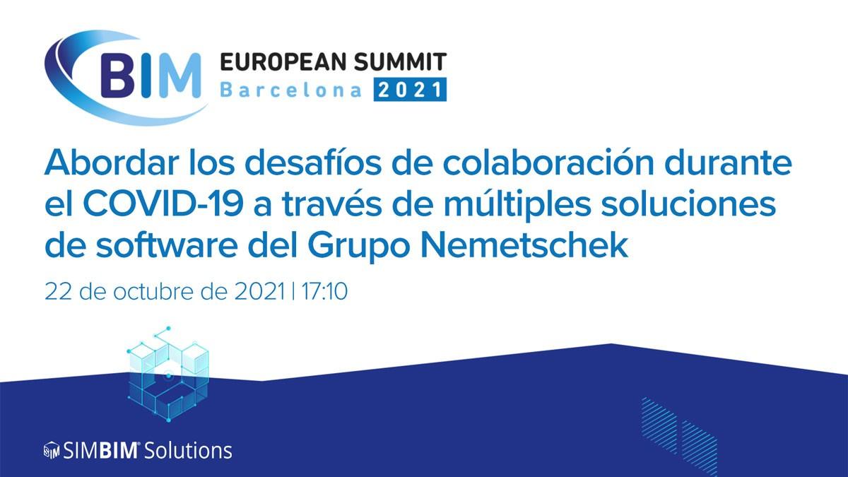 Un caso de estudio en el European BIM Summit 2021: desafíos de colaboración durante de COVID-19