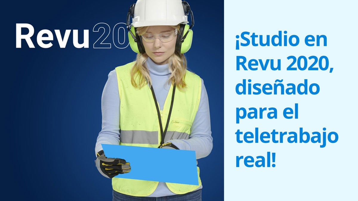 ¡Studio en Revu 2020, diseñado para el teletrabajo real!