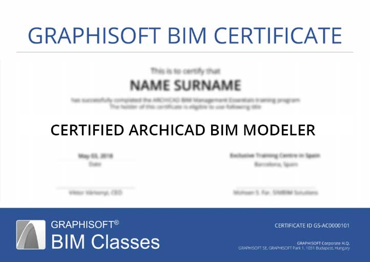 GRAPHISOFT BIM CLASSES
